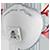 Icon-Atemschutzmaske & Feinstaubmaske