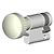 Icon-Profil-Knauf-Halbzylinder
