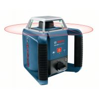 BOSCH Rotationslaser GRL 400 H, mit LR 1, Baustativ BT 170 HD und Messstab GR 240