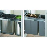 HETTICH Abfallsystem, Kunststoff -    - Nennlänge: