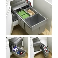 HETTICH Abfallsystem (Eckschrank) ArciTech / InnoTech Pull, Kunststoff -    - Nennlänge: