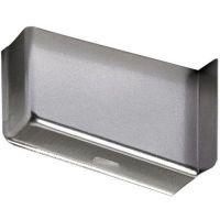 Hettich Abdeckkappe SAH 15  - Metall - silber