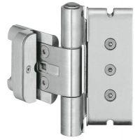 SIMONSWERK Haustürband BAKA® Protect 3D FD MSTS, Edelstahl