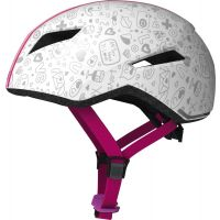ABUS Fahrradhelm YADD-I Kid, white crush, S