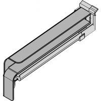 GUTMANN Gleitabschluss BF 4006, 195 mm, RAL 7016 matt