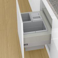 HETTICH Abfallsystem Frame 600, Aluminium