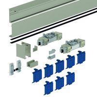DORMA Schiebetürbeschlag MUTO Comfort L 80, Wandmontage, Aluminium
