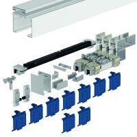 DORMA Schiebetürbeschlag MUTO Premium XL 150, Glasmontage, Aluminium