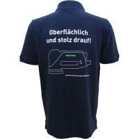 "Festool Poloshirt dunkelblau ""oberflächlich"" Herren Festool M"