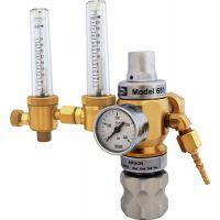 Harris Calorific Hochleistungsdruckregler 651-30FLAR-TWIN Argon-Mix 200bar W21,8x1/14 Zoll