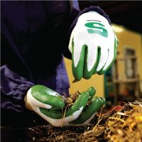 Schnittschutzhandschuhe Check & Go Green Nit 5