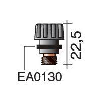 TRAFIMET Brennerkappe kurz ERGOTIG 17/18/26 22,5mm TRAFIMET