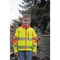 TERRAX Kinder-Warnschutzsoftshelljacke