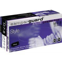 Einweghandschuhe Semperguard Nitril Style