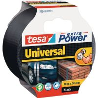 TESA Gewebeband ext.Power® 56348 schwarz L.10m B.48mm Rl.TESA