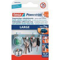 TESA Selbstklebestrip Powerstrips® 58000 SB-Pack á 10 Strips 20x50mm TESA