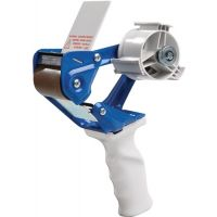 Handabroller Profi MET blau/weiß f.Band-B.50mm