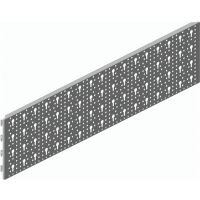 Element-System Stahl-Lochplatte Material STA weiß L.800mm B.200mm Element-System