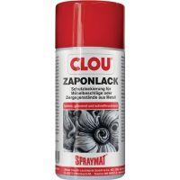 CLOU Zaponlack (Metallfirnis) SPRAYMAT farblos glänzend 300 ml Spraydose CLOU
