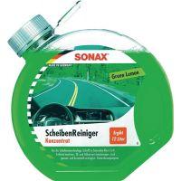 SONAX ScheibenReiniger Green Lemon Konzentrat 3l Rundflasche SONAX