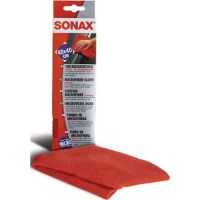 SONAX Microfasertuch rot L400xB400mm 89%Polyester,11%PA SONAX