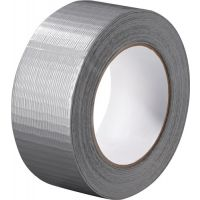 PROMAT Gewebeband silber L.50m B.48mm Rl.PROMAT