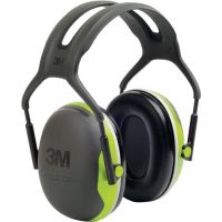 3M Gehörschutz X4A EN 352-1 (SNR) 33 dB Kopfbügel dielektrisch schlanke Kapseln 3M