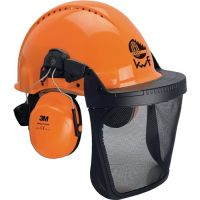 3M Waldarbeiterkombination G3000M orange UV-stabilisiertes Material EN 397 EN 352-3