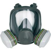 3M Atemschutzvollmaske 6800 – Serie 6000 EN 136 o.Filter Gr.M 3M