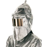 JUTEC Hitzeschutzhaube universal silber AR Gewebe Jutec