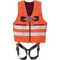 MAS Warnweste m.Auffanggurt MAS33 Quick EN361 EN20471 2-Punkt,Weste orang f.Gr.44-54