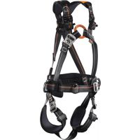 SKYLOTEC Auffanggurt Ignite Trion EN361:2002 schwarz/orange/anthrazit f.Gr.M/XXL Skylotec