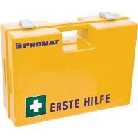 PROMAT Erste Hilfe Koffer BAUBRANCHE B260xH170xT110ca.mm gelb PROMAT