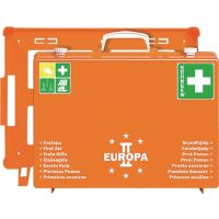 SÖHNGEN Erste Hilfe Koffer EUROPA II B400xH300xT150ca.mm orange Söhngen
