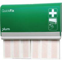 PLUM Pflasterspender QuickFix B232,5xH133,5xT33ca.mm grün PLUM