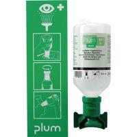 PLUM Augenspülstation 0,5l Haltbarkeit 3 Jahre (ungeöffnete Flasche) PLUM