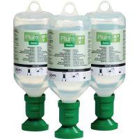 PLUM Augenspülflasche 0,5l 3 Jahre (ungeöffnete Flasche) DIN EN15154-4 3 St./Kt.PLUM