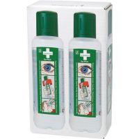 CEDERROTH Augenspülflasche 2 x 0,5l DIN EN15154-4 CEDERROTH