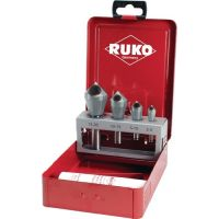 RUKO Querlochsenkersatz 2-5/5-10/10-15/15-20mm HSS 5tlg.Metallkass.RUKO