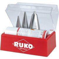 RUKO Blechschälbohrersatz 3-14/5-20/16-30,5mm HSS 4tlg.Ku.-Kass.RUKO