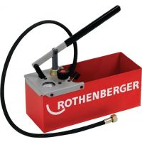 ROTHENBERGER Prüfpumpe TP 25 0-25bar R 1/2 Zoll Saugvolumen p.Hub ca.16 ml ROTHENBERGER