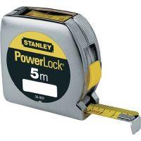 STANLEY Taschenrollbandmaß PowerLock® L.5m Band-B.19mm mm/cm EGII Ku.Sichtf.STANLEY
