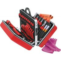 KNIPEX Werkzeugkoffer 48tlg.Koffer a.ABS-Material f.Elektriker KNIPEX