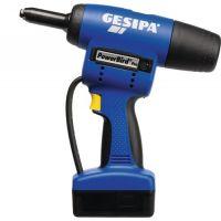 GESIPA Akkublindnietsetzgerät PowerBird® Pro Gold Edition 7-tlg.20000 N