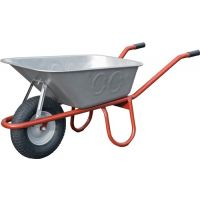 CAPITO Tiefmuldenkarre Allcar 100 100l Luftrad auf Stahlblechfelge