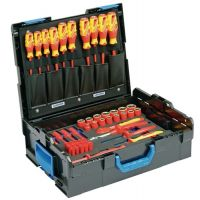 GEDORE Werkzeugsortiment 53-tlg.in L-BOXX f.Elektriker GEDORE