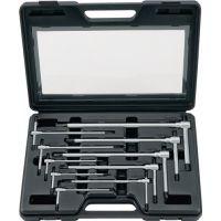 PROMAT Stiftschlüsselsatz 10-tlg.SW 2-10 m.verschiebbarem Quergr.PROMAT