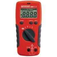 BENNING Multimeter MM 1-1 0,1mV-750 V AC,0,1 mV-1000 V DC RMS BENNING
