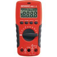 BENNING Multimeter MM 1-3 0,1 mV-750 V AC,0,1 mV-1000 V DC RMS BENNING