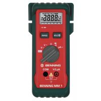 BENNING Multimeter MM 1 0,1 mV-750 V AC,0,1 mV-1000 V DC RMS BENNING